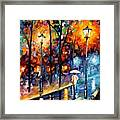 Warm Winter Framed Print