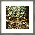 Wat Phra Keo (grand Palac Framed Print