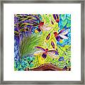 Watching The Bug Byway By Way Of Back Porch Framed Print