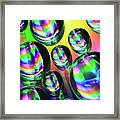 Water Droplets 6 Framed Print