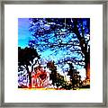 Water Of Leith At Chesser Framed Print