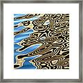 Water Reflection 2 Framed Print