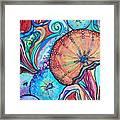 Watercolor #4 Sea Urchins Framed Print