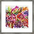 Watercolor Garden IIi Framed Print