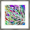 Watercolor My World Framed Print