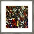 Waterfall Of Wishes In Red Framed Print