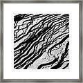 Waves Of Time Framed Print