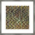 Wavy Waves Framed Print