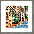 Welcome To Annapolis Framed Print