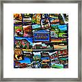 Welcome To Harrison Arkansas Framed Print by Kathy Tarochione