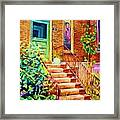 Westmount Home Framed Print