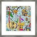 What A Mess Color Framed Print by Jack Norton