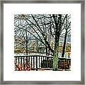 Wheeling Waterfront Framed Print