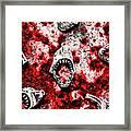 When Sharks Attack  Framed Print