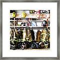 Where Heroes Hang Their Capes Framed Print