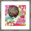 Whimsical Musing High In The Air Framed Print