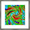 Whirlwind - Abstract Art Framed Print