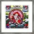 White Jambhala 3 Framed Print