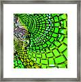 Wild Curves Abstract Framed Print