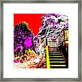 Wild Goddess At Kashi Framed Print by Eikoni Images