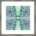 Wild Island Creation 1 Fractal B Framed Print