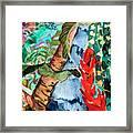 Wild Jungle Framed Print
