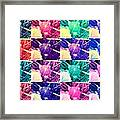 Wild Strawberry In Different Flavors Framed Print
