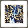 Wilderness Waterfall Framed Print