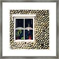 Window In Nova Scotia Framed Print