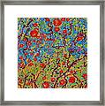 Winter Rose Hips The Coral Sea Sold Framed Print