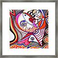 With Deep Thoughts And Tears - Iv Framed Print
