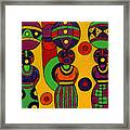 Women With Calabashes II Framed Print