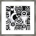 Women With Calabashes IIi Framed Print