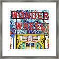Wonder Wheel Amusement Park 10 Framed Print