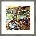 Woodie World Framed Print