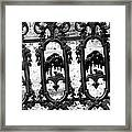 Wrought Iron Gate -west Epping Nh Usa Framed Print