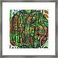 Xibalba Forest Framed Print