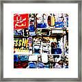 Yassin... A Beirut Glassmaker Framed Print