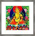 Yellow Jambhala 17 Framed Print