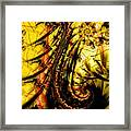 Yellow Symbol Design Framed Print