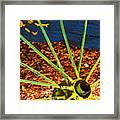 Yellow Wheel Framed Print