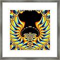 Yellow Wings Framed Print