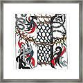 Zentangle Inspired I #1 Framed Print