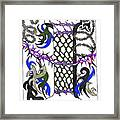 Zentangle Inspired I #2 Framed Print