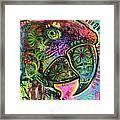 Close Up Parrot Framed Print