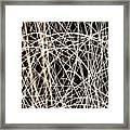 Lighttrails Framed Print