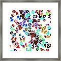 Rainbow Love Framed Print