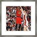 Atlanta Hawks V Miami Heat Framed Print