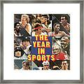 1981 Year In Sports Issue Sports Illustrated Cover Framed Print