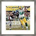 2011 Nfc Championship Green Bay Packers V Chicago Bears Sports Illustrated Cover Framed Print